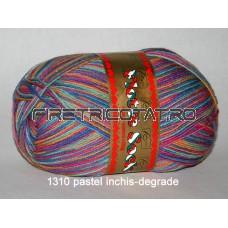 Rellana Fl.Socke 4-fold 100g Colori (4 fire rasucite)
